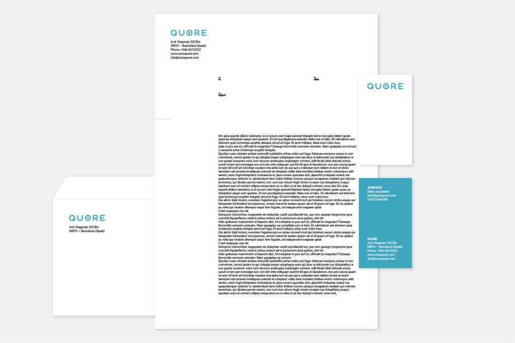 quore stationery